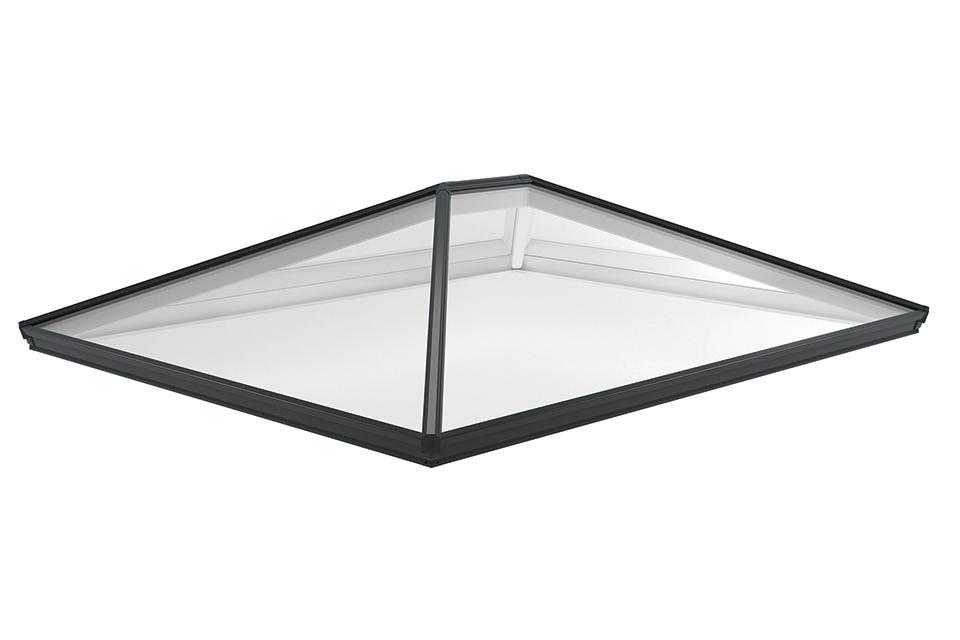 Roof lantern grey