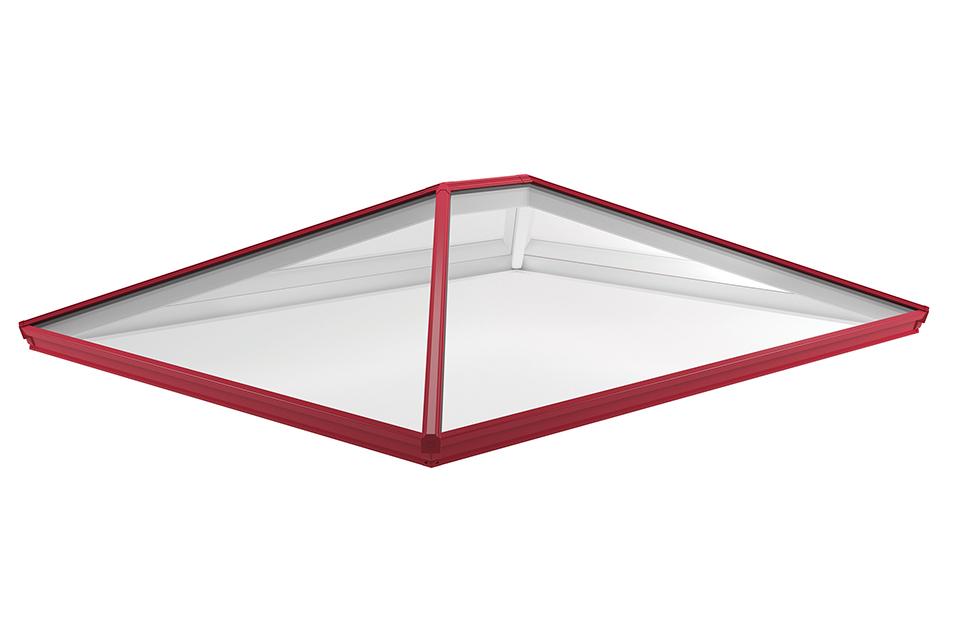 Roof lantern red